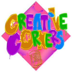 Creative Corners Podcast Logo
