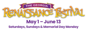 The Georgia Renaissance Festival 2021 Logo